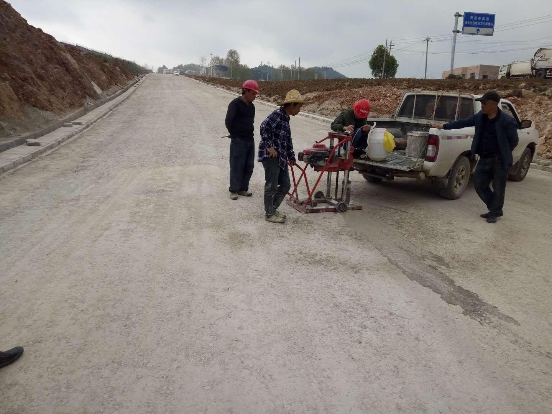 道路水稳钻芯检测