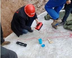 裂缝深度及宽度检测